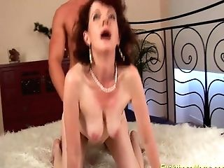 Wild Lovemaking With My Hairy Stepmom