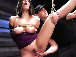 Standing On Knees Curvy Mummy Violet Starr Gets Cruelly Fucked In Standing Pose