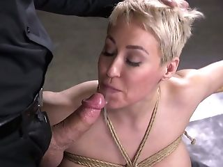 Brief Haired Blonde Mummy Ryan Keely Is Worth Some Gonzo Sadism & Masochism Fuck Today