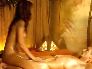 Erotic Rubdown Blonde Loves To Touch