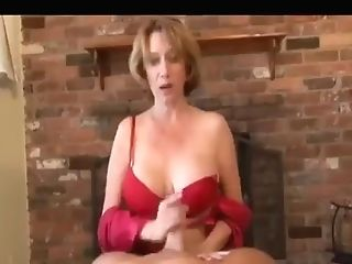 Point Of View Step Mom Makes Him Explode