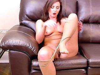 Lewd Housewife Helena Price Is Finger Fucking Hairy And Insatiable Vulva