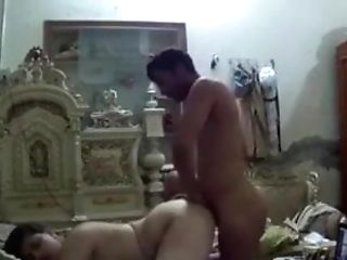 Indian Man Fucking Indian Bitch In Rear End Style Part 1-1