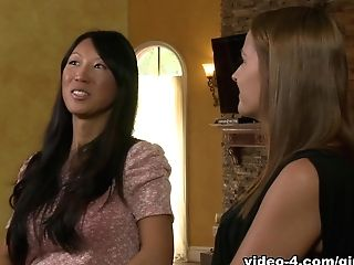 Best Pornographic Stars Tia Ling, Elexis Monroe In Best Girl-on-girl, Cuni Xxx Movie