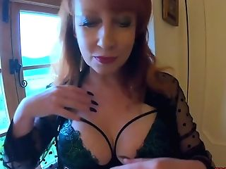 Ginger-haired Matures Crimson Xxx Gets Off With Her Plaything
