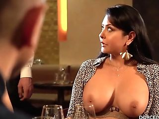 Clea Gaultier Gets A Double Penetration In The Restaurant Kitchen