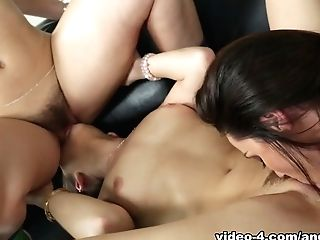 Incredible Superstars Remy Lacroix, Kendra Eagerness, Dani Daniels In Amazing Big Tits, Superstars Adult Movie