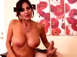 Female Domination Masseuse Strokes Customers Pink Cigar