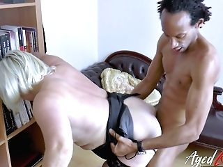 Lusty Brit Physician Lacey Starr Check Out Black Fuck-stick Of Her Patient