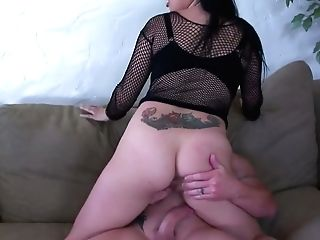 Bitch With Massive Baps Sonya Sage Rails A Dick And Gets Rear End Fucked