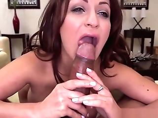 Big Booty Cougar Grinds And Inhales Spear