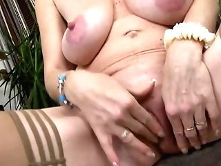 Matures Woman Getting Off Two