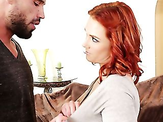 Red-haired Beauty Siri Blows Karlo Karrera's Mind With Her Big Cupcakes
