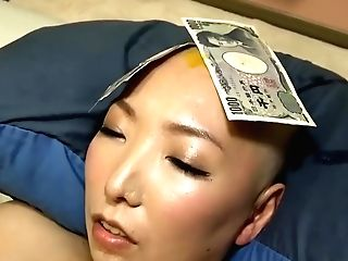 Force Headshave Japanese Lady