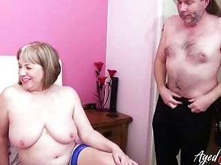 Old Chubby Housewives Love Crazy Orgy For The First-ever Time