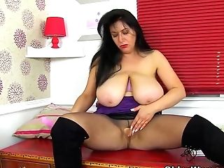 Dirty Mummy With Massive Boobies Like To Put Their Fuckfest Fucktoys Deep In Their Raw Beavers