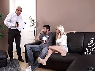 Daddy4k. Matures Dude Embarks Spontaneous Lovemaking With Winsome...